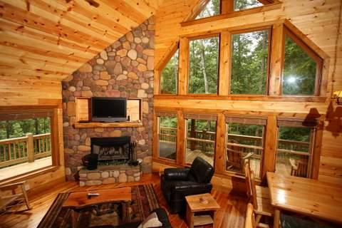 in cabins cabin vacation rentals ga helen