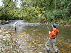 Take an extended vacation with cabin rentals in ga for Trout fishing in helen ga