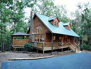 Blue ridge cabins vs helen ga cabins for Www helen ga cabins com