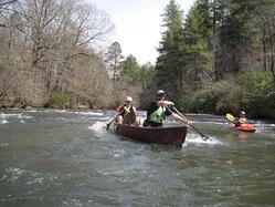 helen ga canoe chattahoochee river