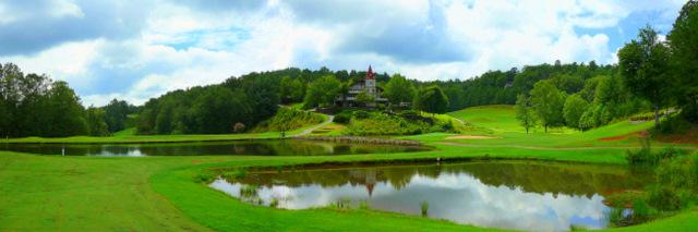 Helen GA Golfing