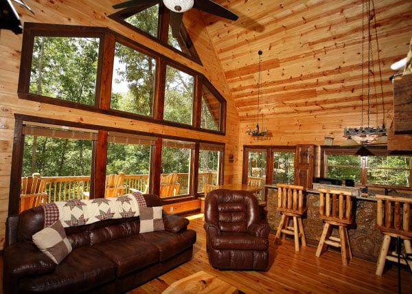 luxury cabin helen ga