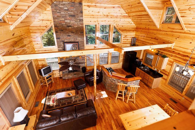 mountain cabins