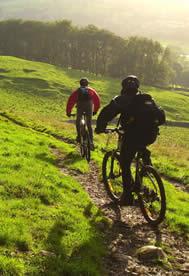 north ga biking couple
