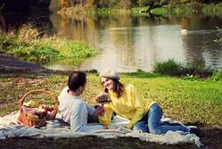 picnic near cabins in ga