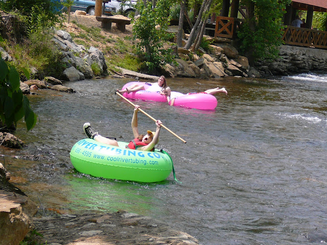 tubing in helen georgia