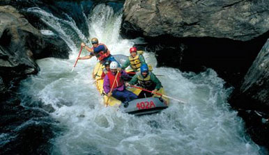 white water rafting in helen ga