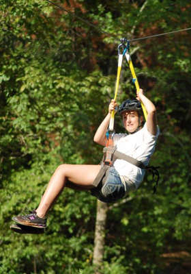zip line tours near cabins in helen georgia