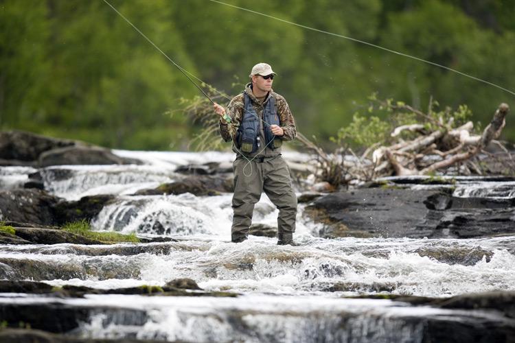 Helen ga fly fishing for Fishing in yosemite