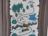 trail map cedar creek cabin rentals