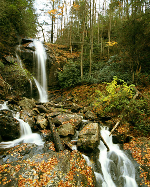 helen georgia waterfall fall