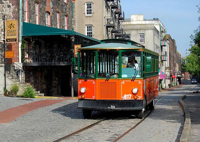 savannah georgia trolley