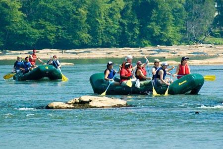 Chattahoochee River rafting