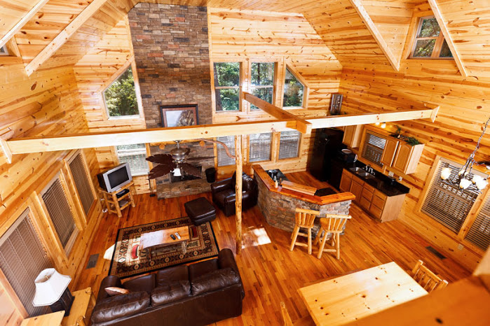 pet friendly cabins in helen