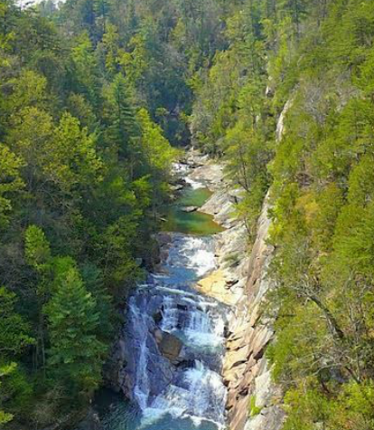 Hiking In The Tallulah Gorge State Park