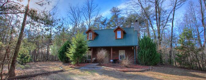 Speckled Trout Cabin Rental Near Helen Georgia