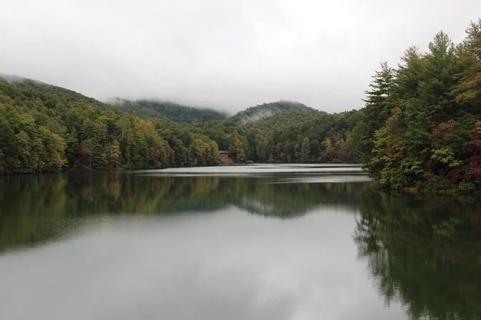 Smith Lake @ Unicoi Park