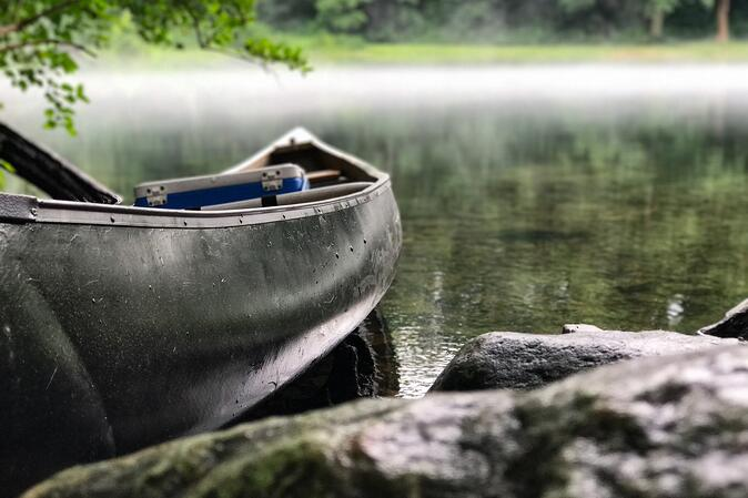 Canoe Fishing In North Georgia