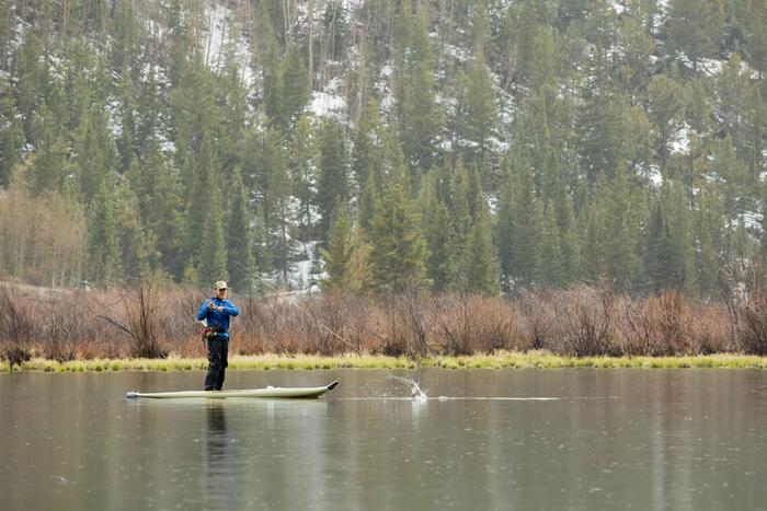 Have you tried stand up paddle fly fishing in north georgia for Fly fishing north georgia
