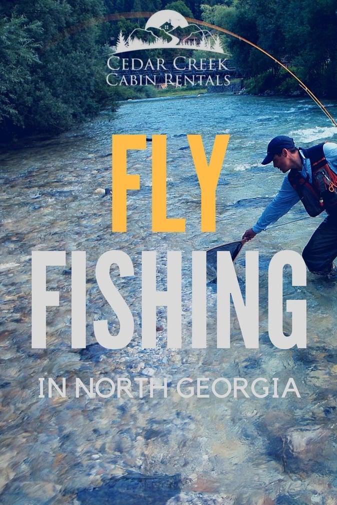 Fly fishing tips for fishing around helen georgia for Trout fishing in helen ga