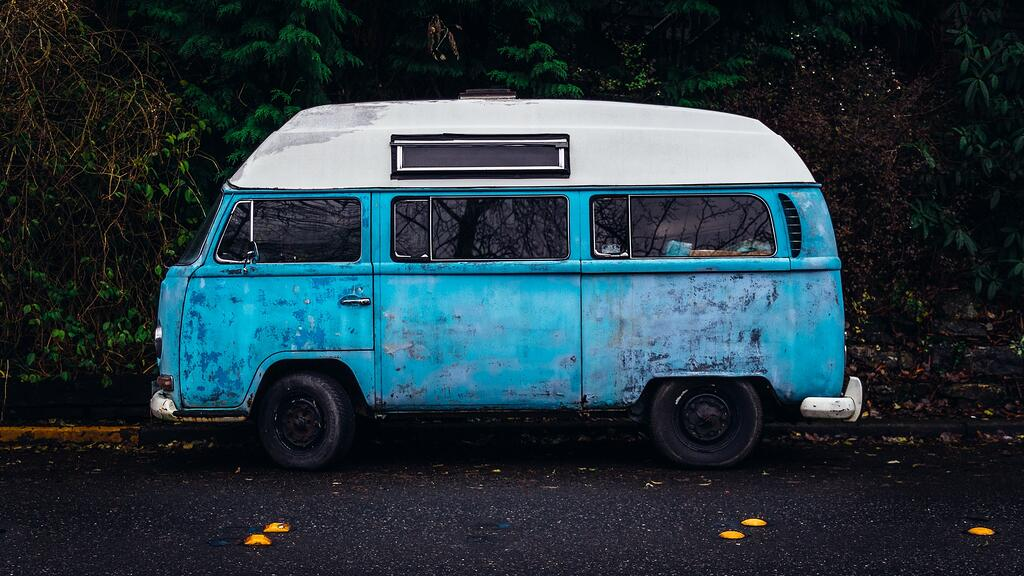 VW Bus - Parked