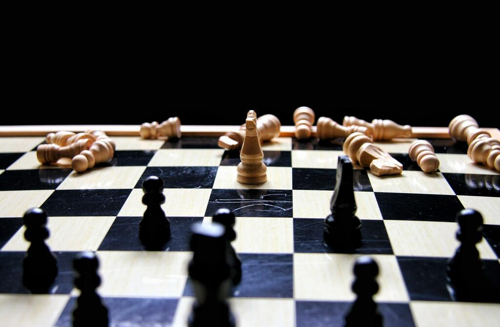 Strategy chess board