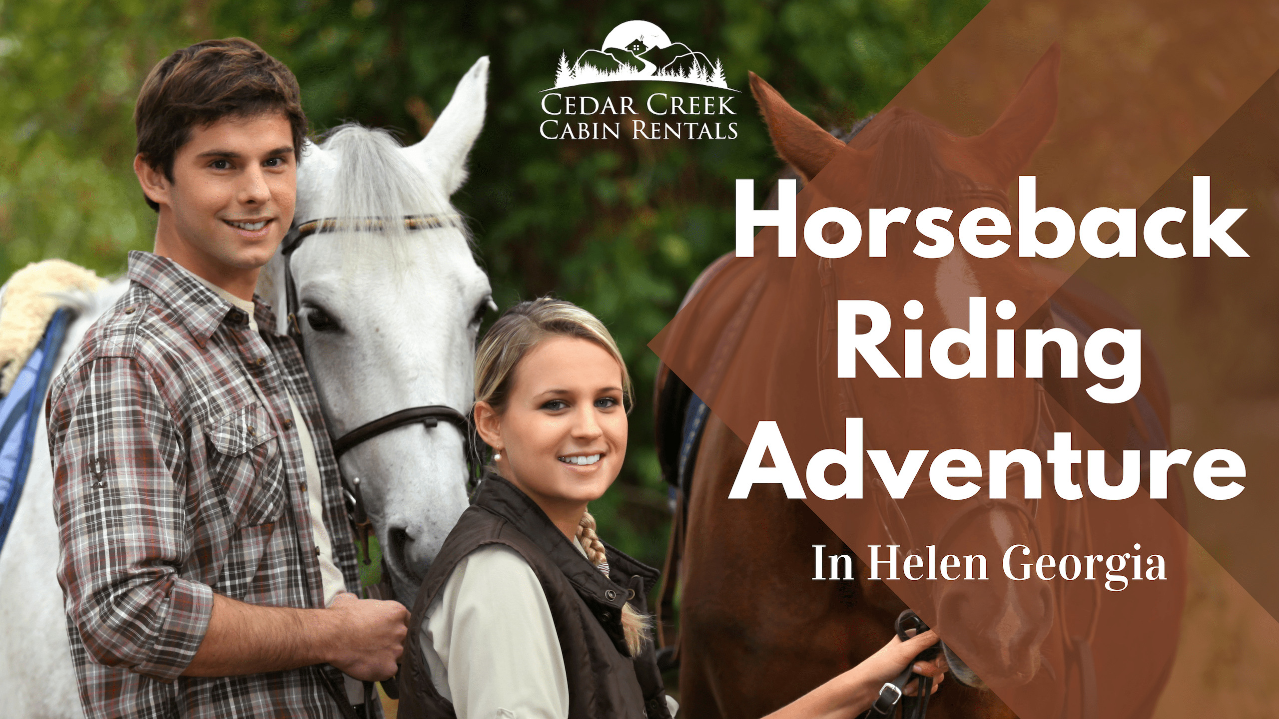 Horseback-Riding-Adventure-Cedar-Creek-Cabin-Rentals-Helen-GA-Blog-Banner