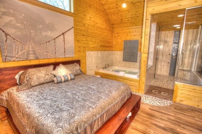 Oasis cabin photo inside