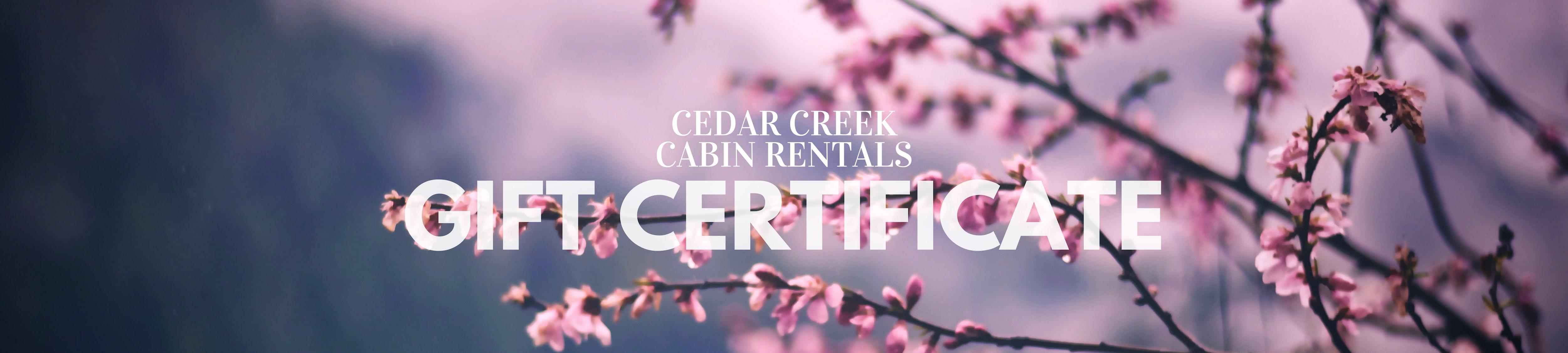 Spring-Gift-Certificate-Cedar-Creek-Cabin-Rentals-Helen-Georgia-Banner-Photo-by-nikhil-kumar-231465-unsplash