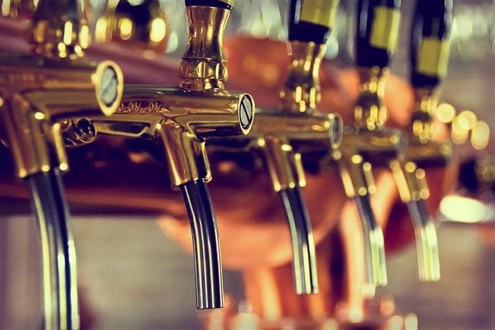 pub-beer-spouts-shutterstock_263923439