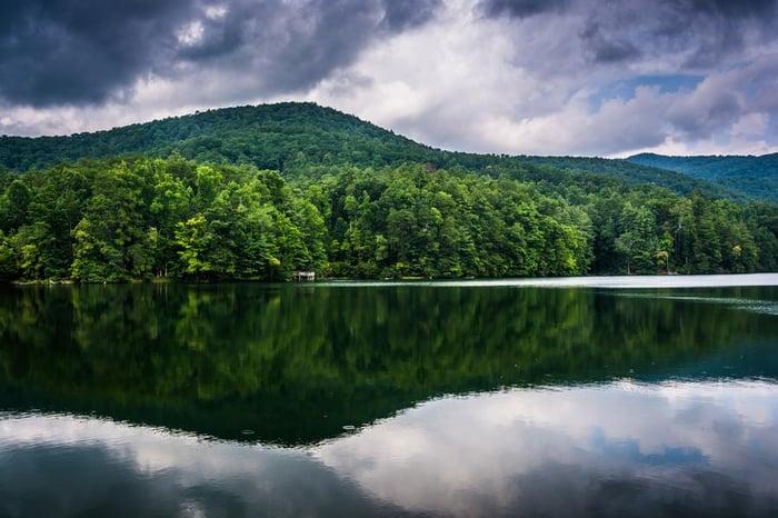 unicoi-lake-shutterstock_213595255