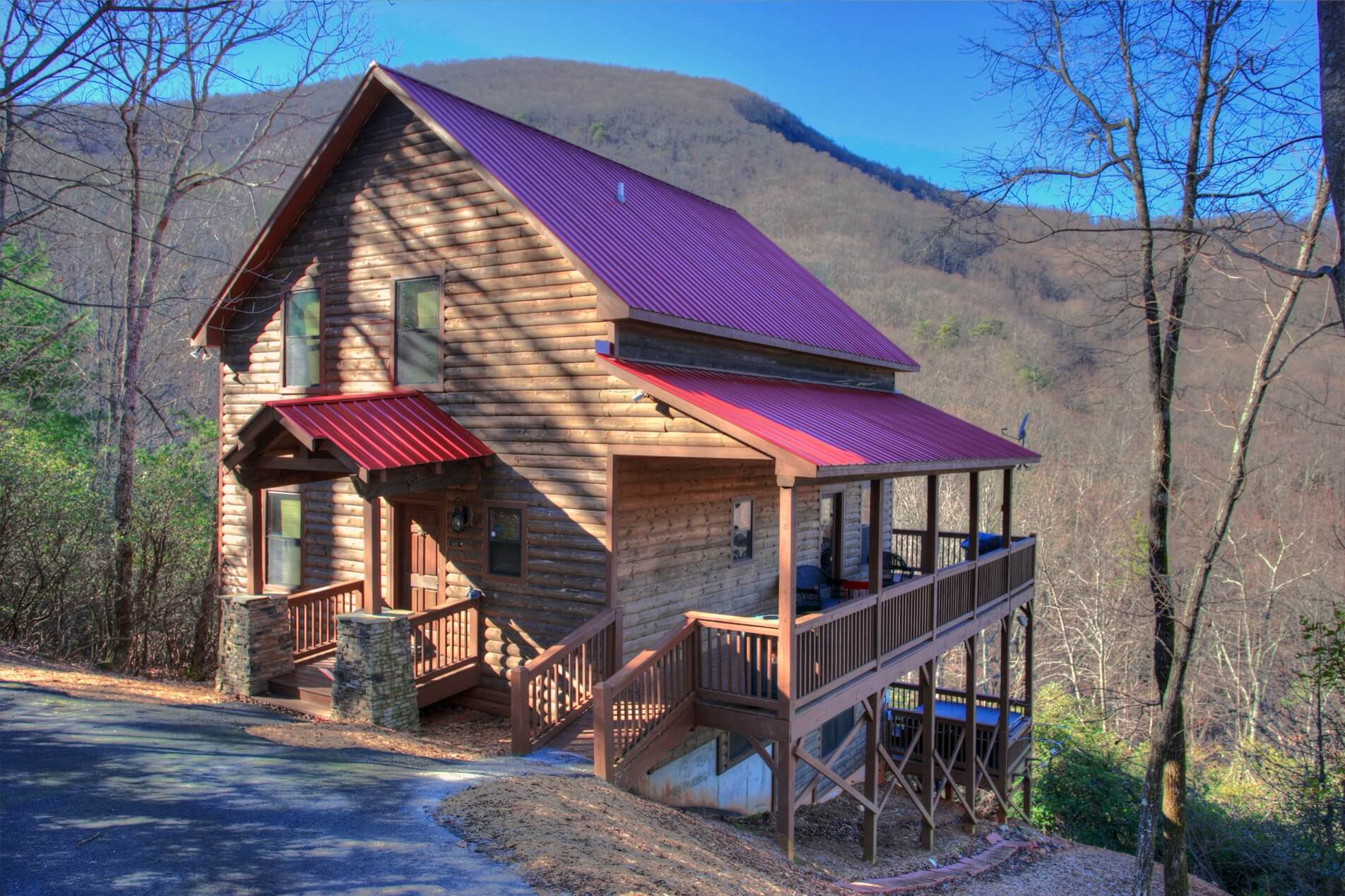 Family Cabin Rental Dream Mountain Lodge Helen Georgia