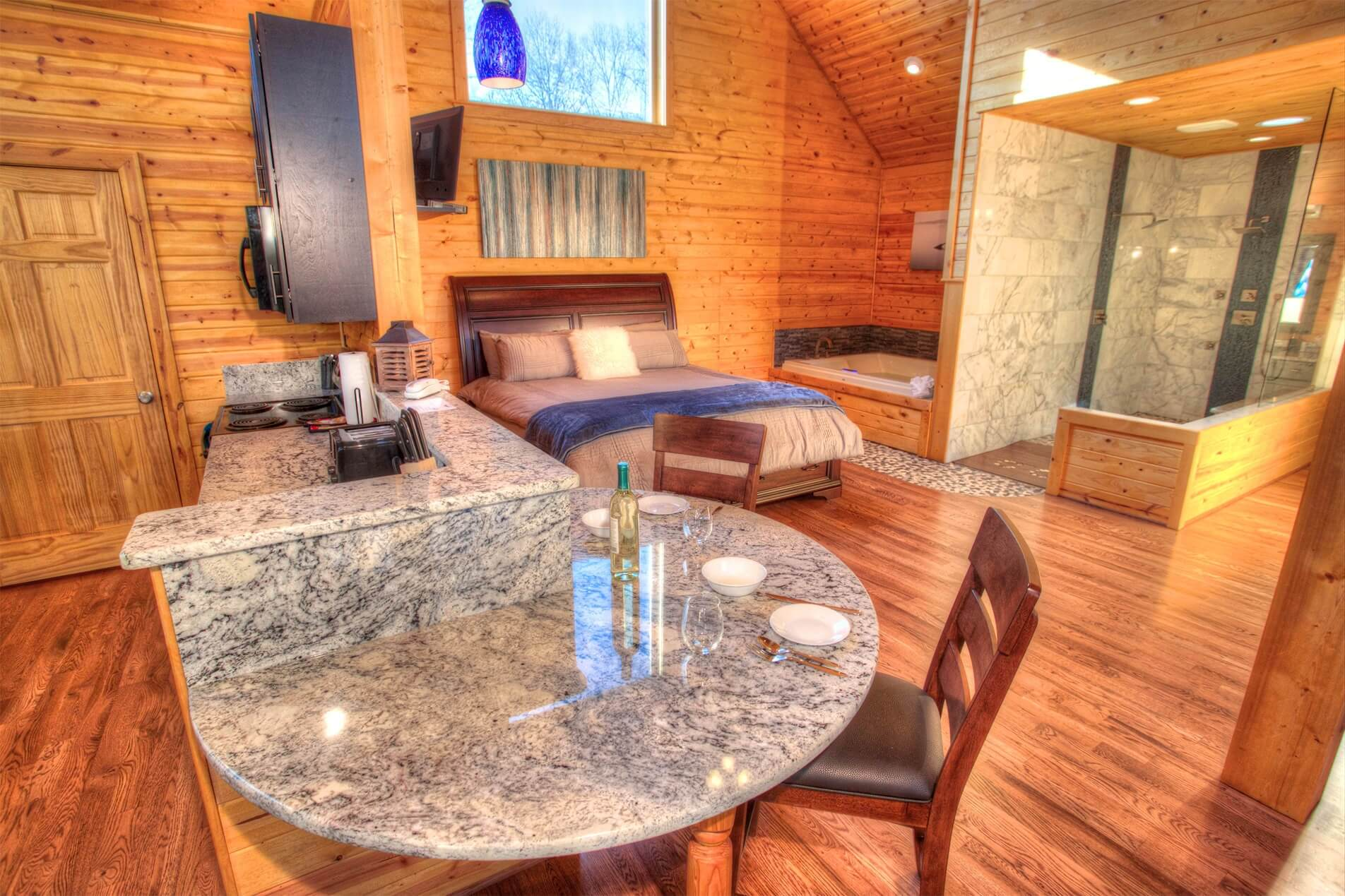 Radiance Couples Cabin