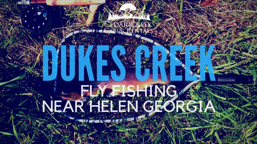 Insights On Fly Fishing Dukes Creek Near Helen Georgia