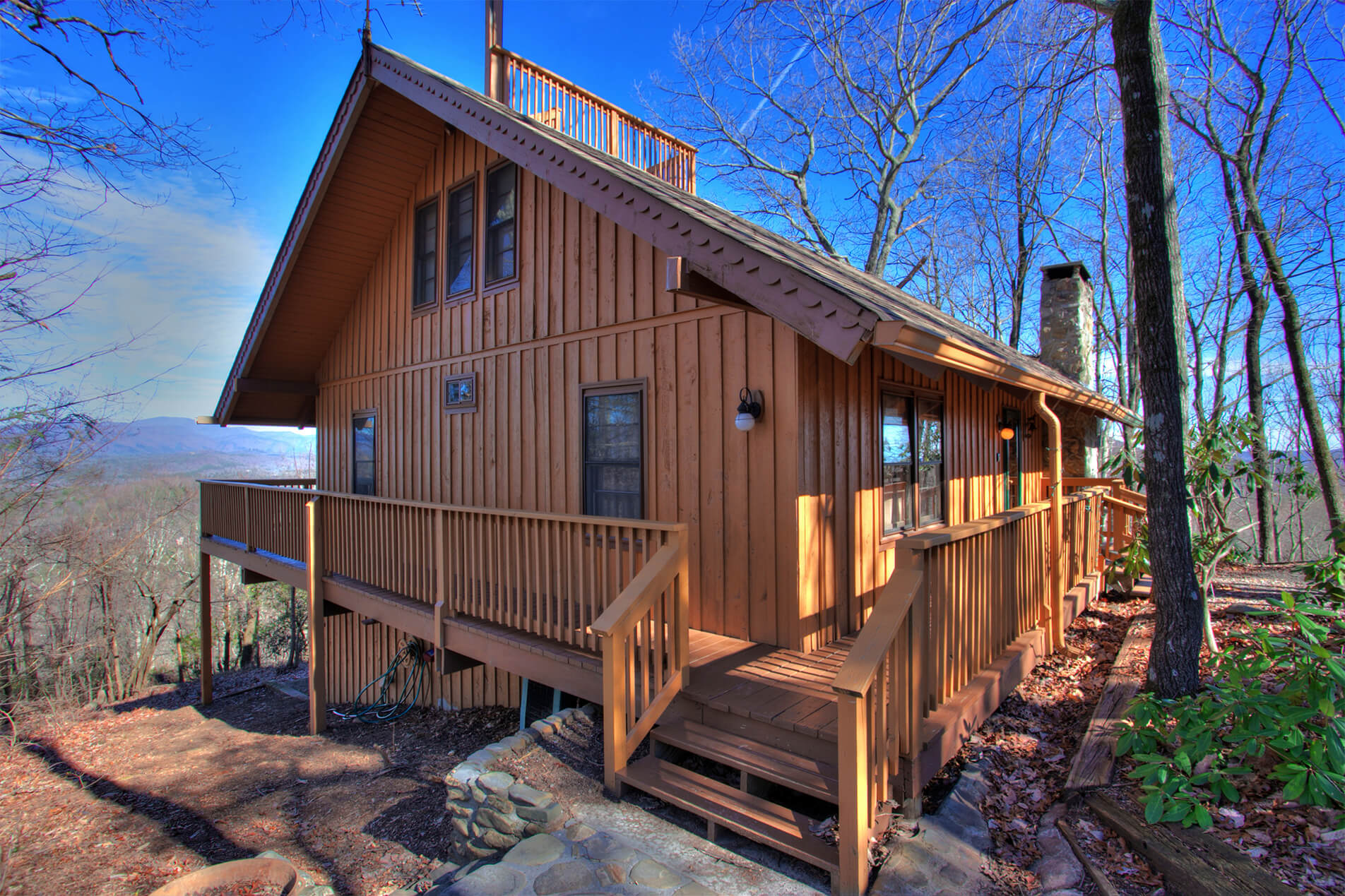 Small Family Cabin Outside View