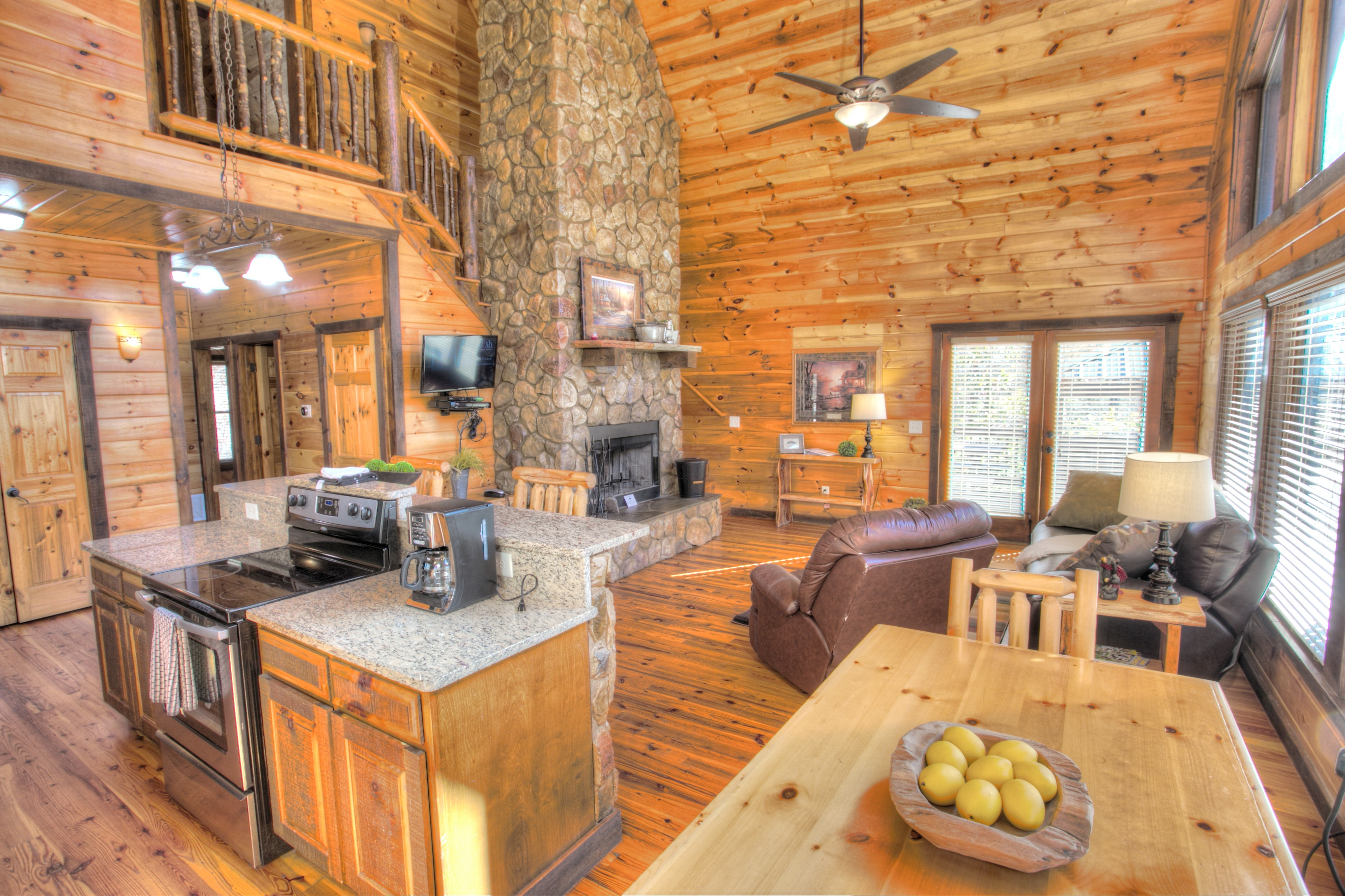 oak-hill-helen-ga-interior-cabin-rentals