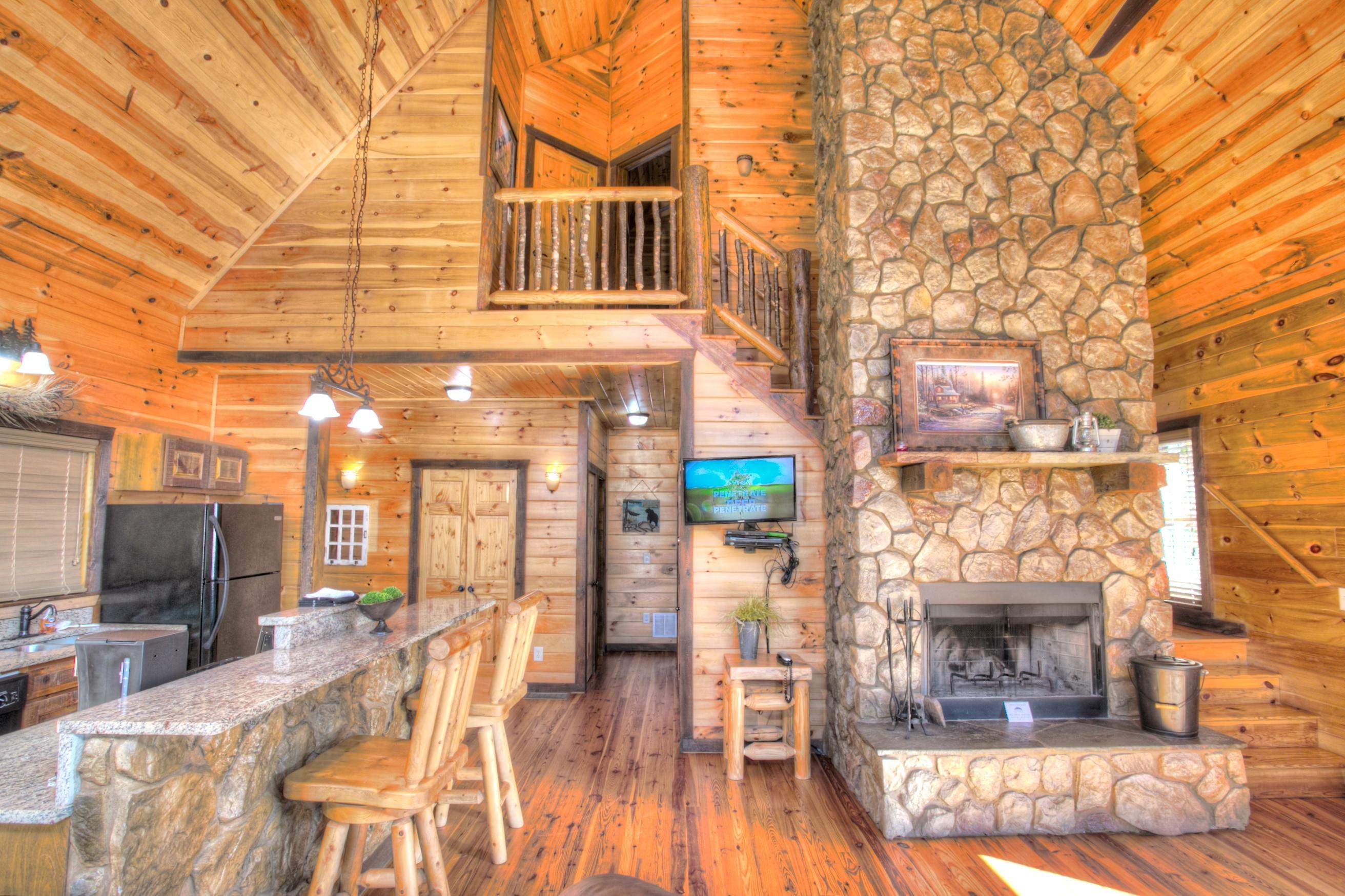 oak-hill-cabin-rentals-interior