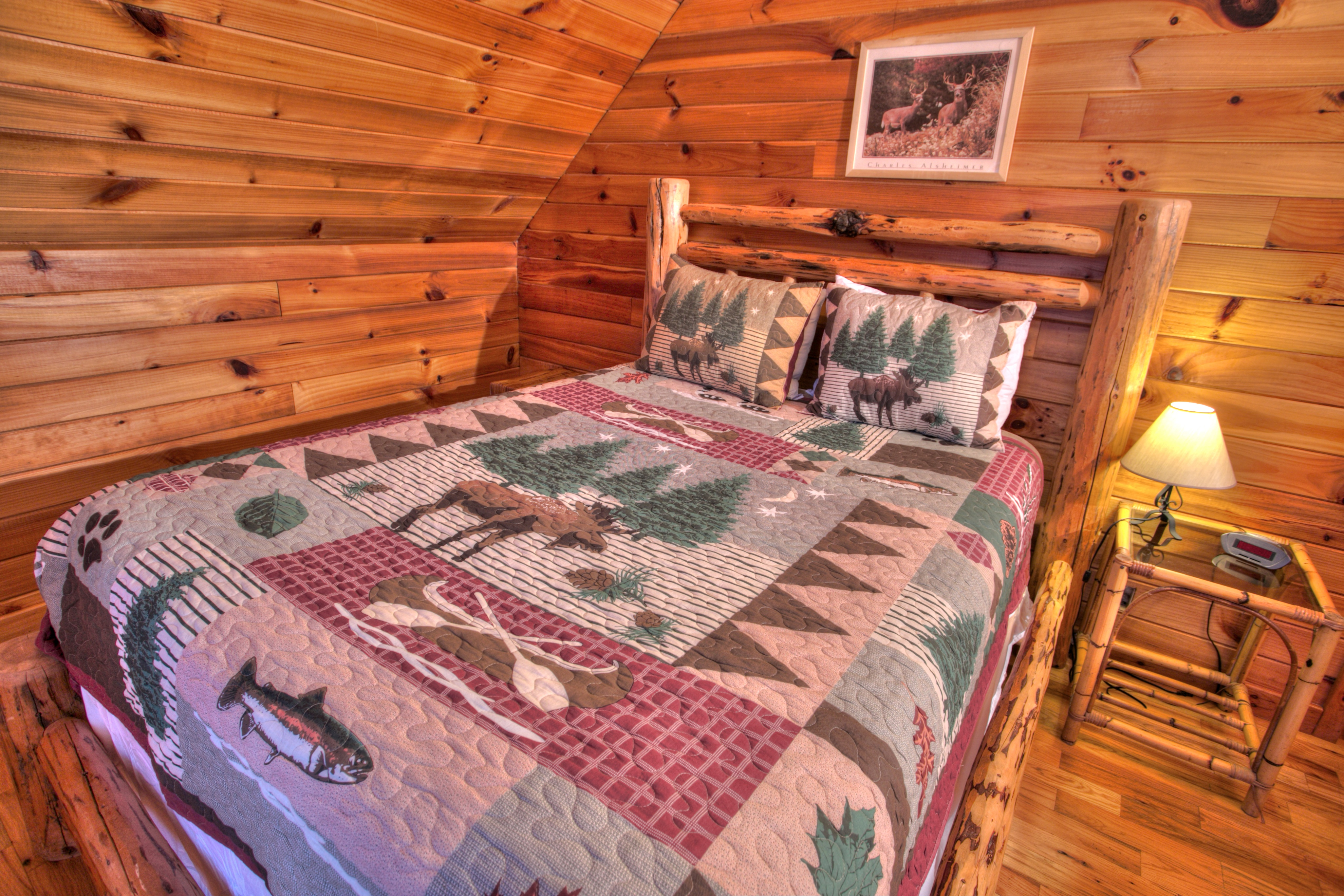 trout-lily-cabin-helen-ga-bed-room